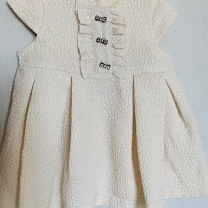 Ivory Baby Girl Dress 3 months